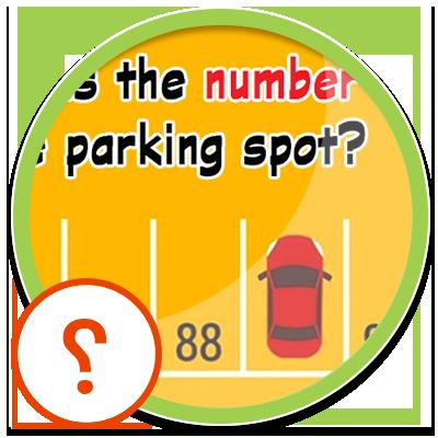 معمای شماره پارکینگ